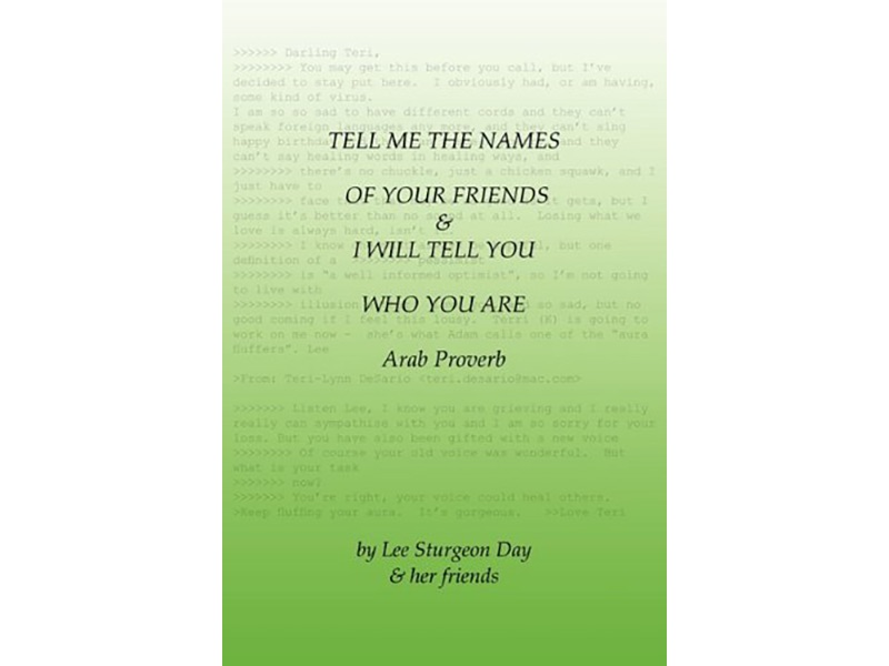 Tell me the names book image